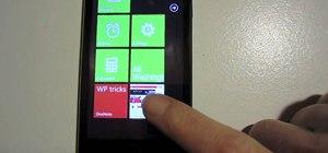 Get started using a Microsoft Windows Phone 7 (WP7) smartphone