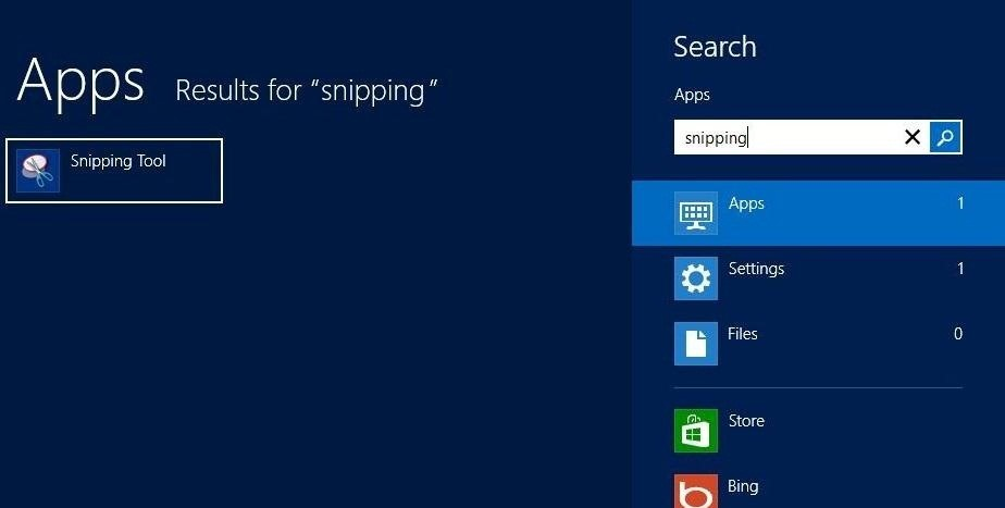 How to Take Screenshots (And Crop Them) in Windows 8 « Windows Tips