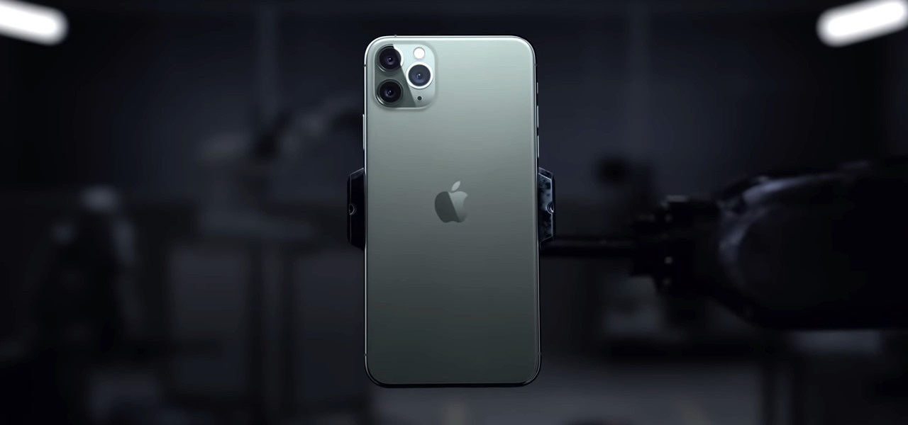 nice picture of an handheld iphone 11