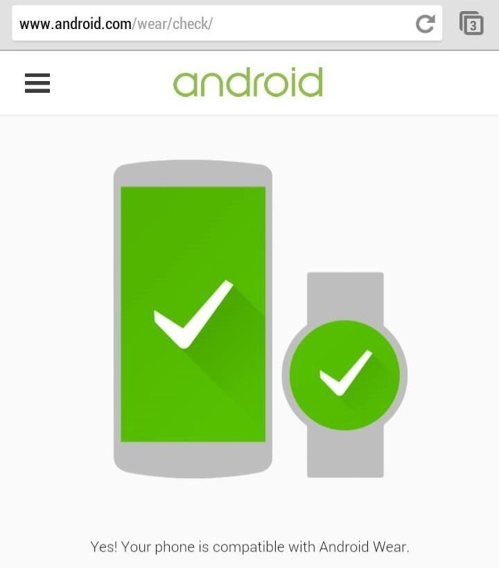 Is Your Device Ready for Android Wear? Here's How to Find Out