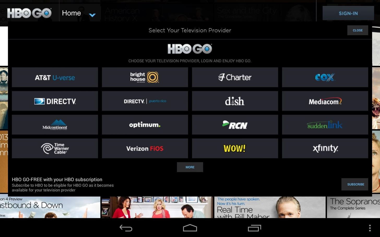 How to Install the HBO GO App on Your Nexus 7 Tablet (No Root Required)