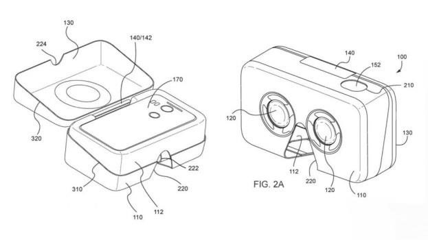 Google's New Patent Suggests Phone Packaging That Doubles as a VR Headset
