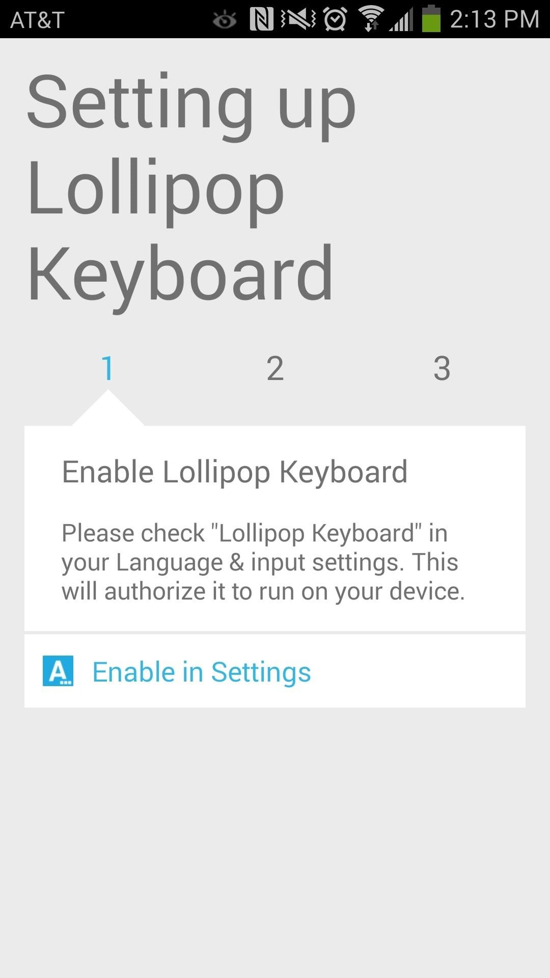 Install the New Lollipop Google Keyboard on Any Android