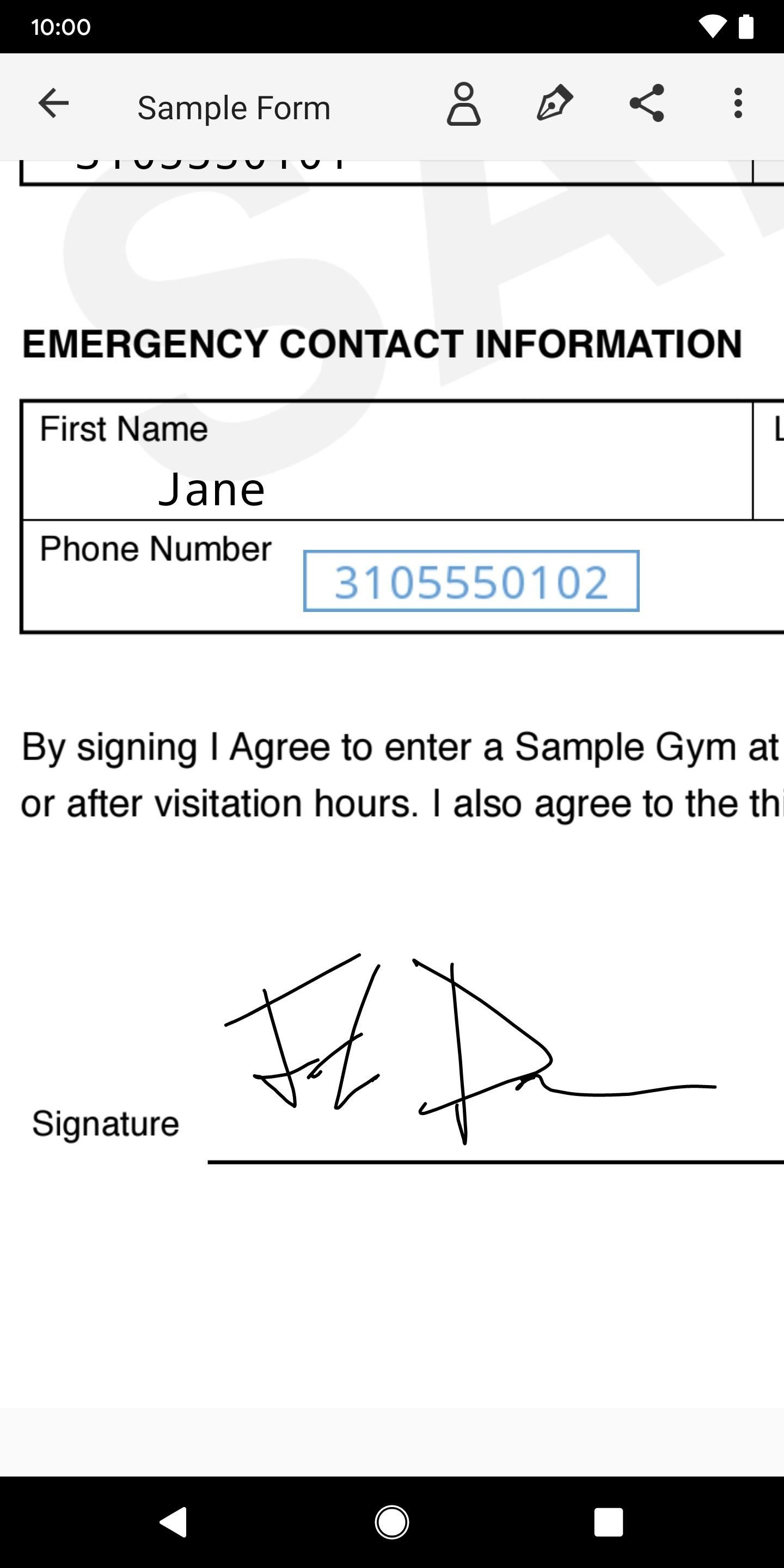 Use Adobe Fill & Sign to electronically fill and sign important forms Android or iOS