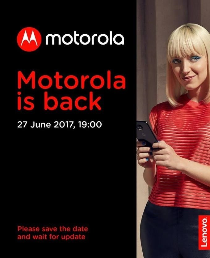 Lenovo Releases Image Hinting at Moto Z2 Announcement This Month