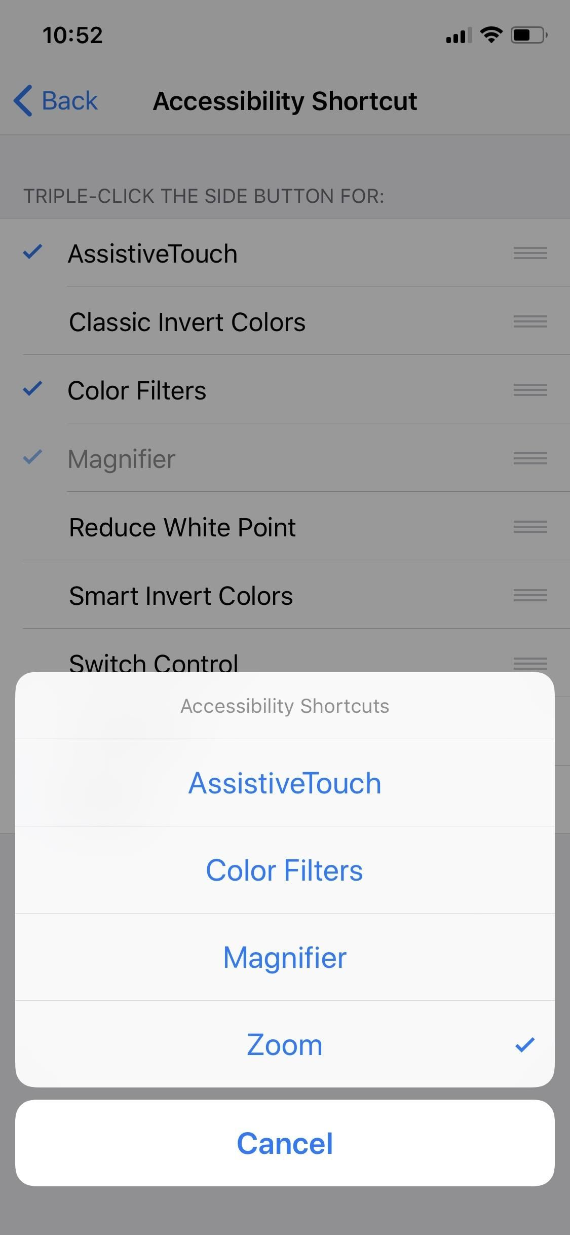How to Open the Accessibility Shortcuts on Your iPhone X