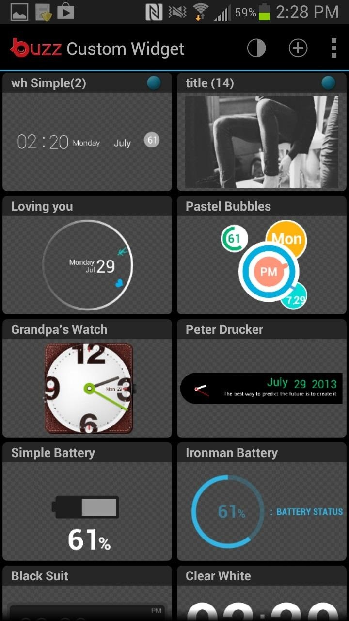 40 000 Ways To Customize The Android Home Screen On Your Samsung Galaxy Note 2 No Root