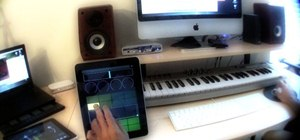 Use an iPad as a Midi controller for Logic & Pro Tools