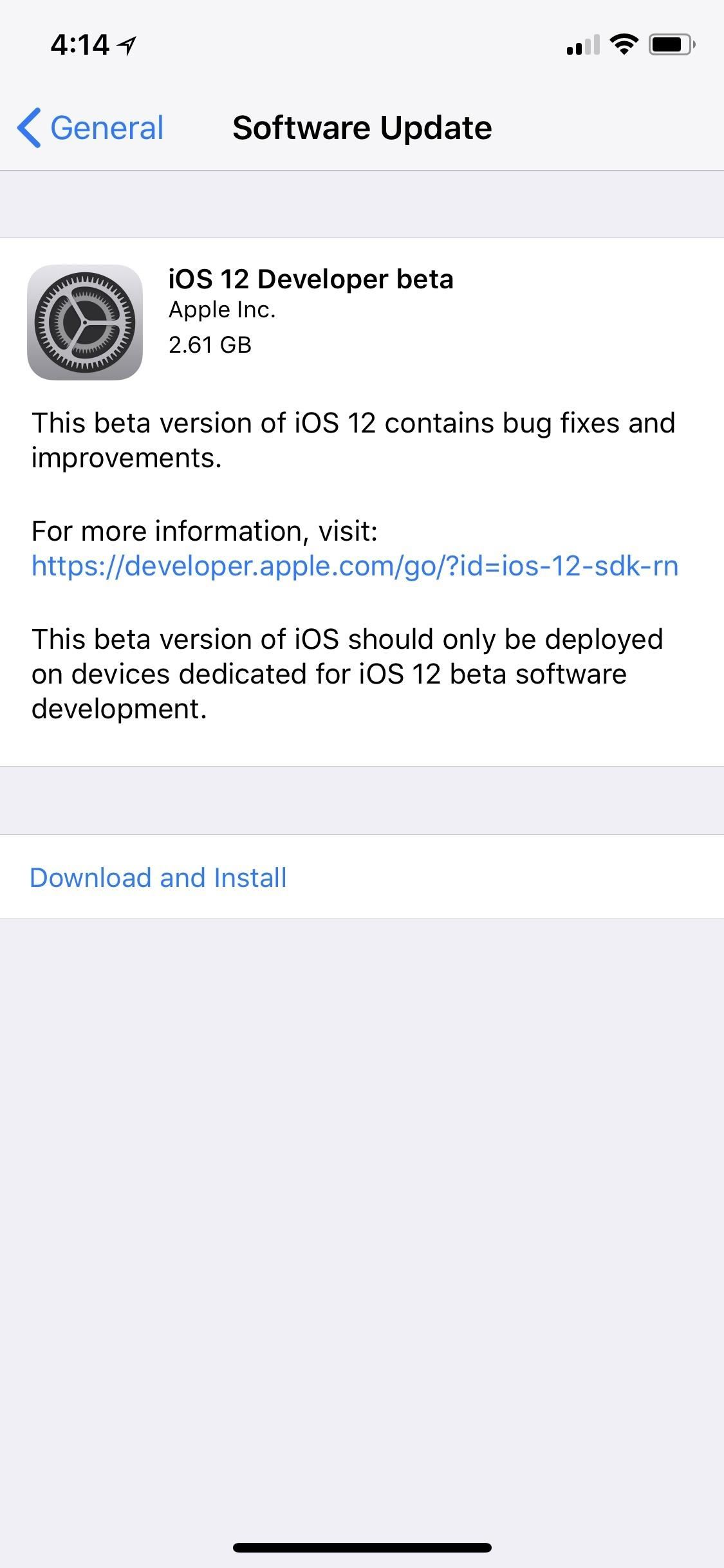How to Download iOS 12.1.1 Beta on Your iPhone Right Now