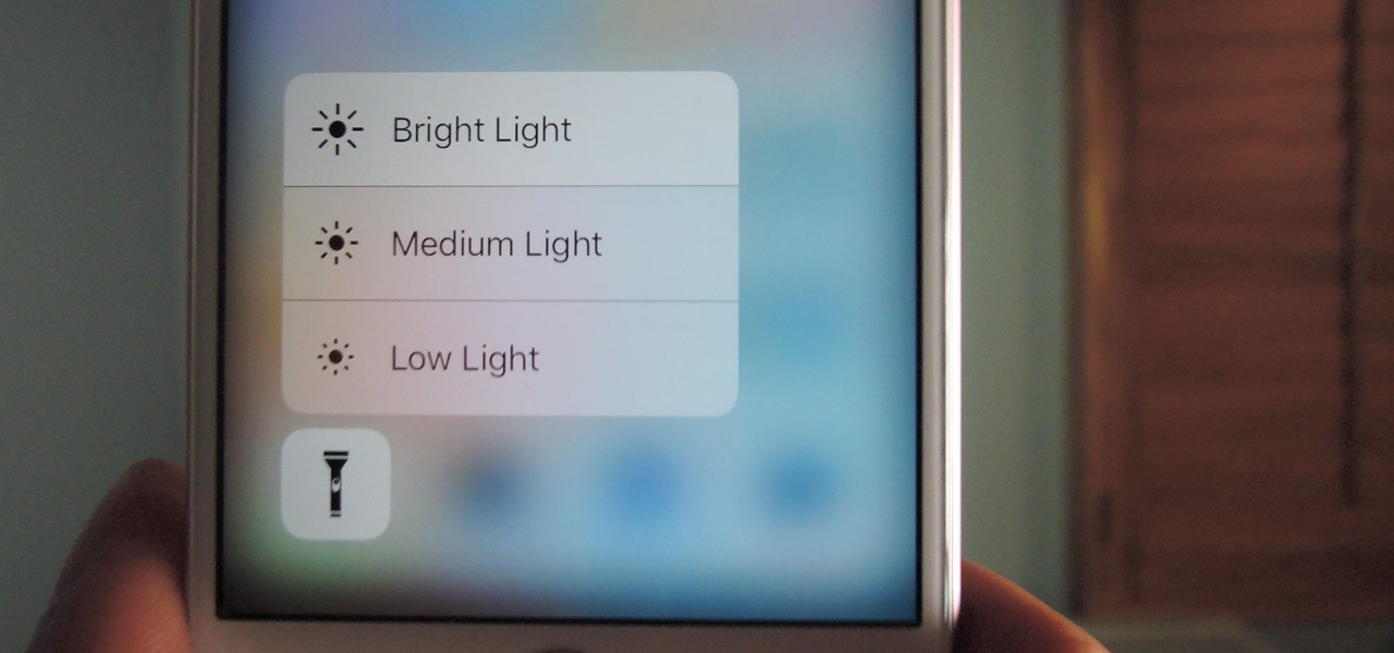 Change Flashlight Brightness on Your iPhone in iOS 10