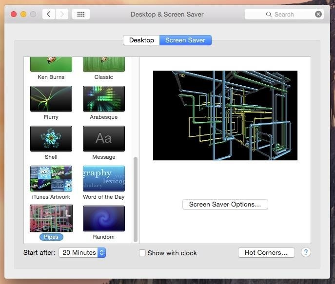 How to Install the Classic Windows 3D Pipes Screensaver on Your Mac