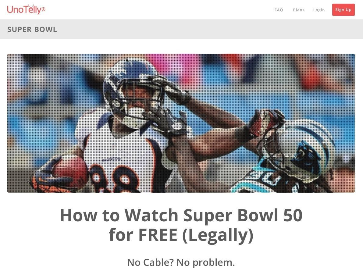 How to Watch the 2016 Super Bowl 50 Live Stream from Anywhere