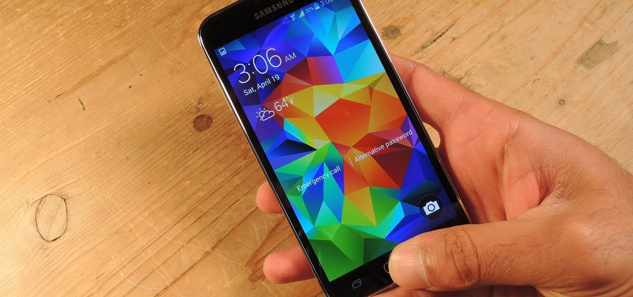 Unlock Your Fingerprint-Protected Galaxy S5 Using Only One Hand