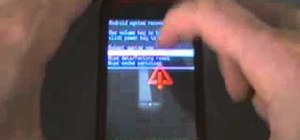 Load a custom ROM on an HTC MyTouch Slide with Exploid