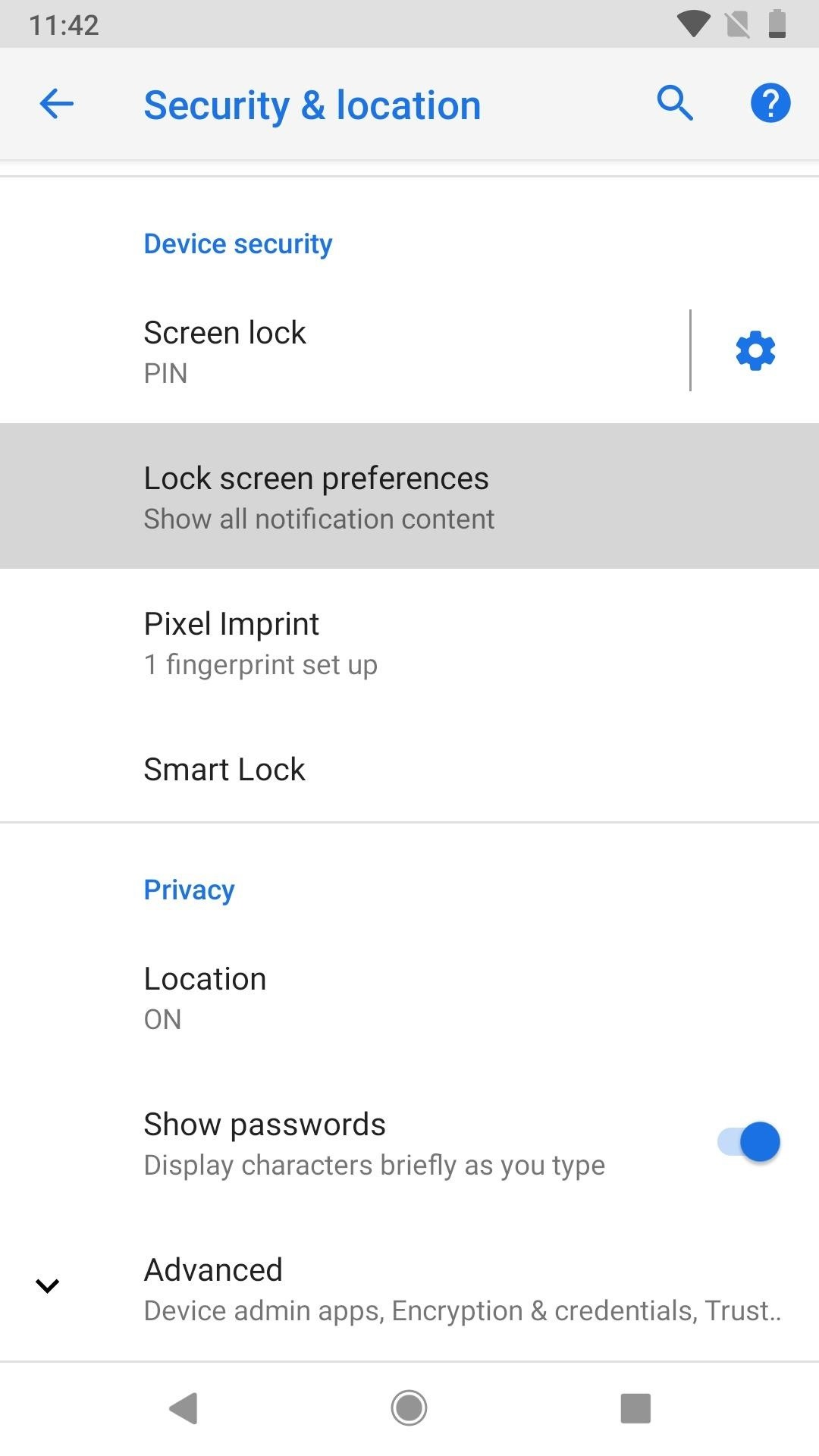 How to Quickly Disable Fingerprints & Smart Lock in Android Pie for Extra Security