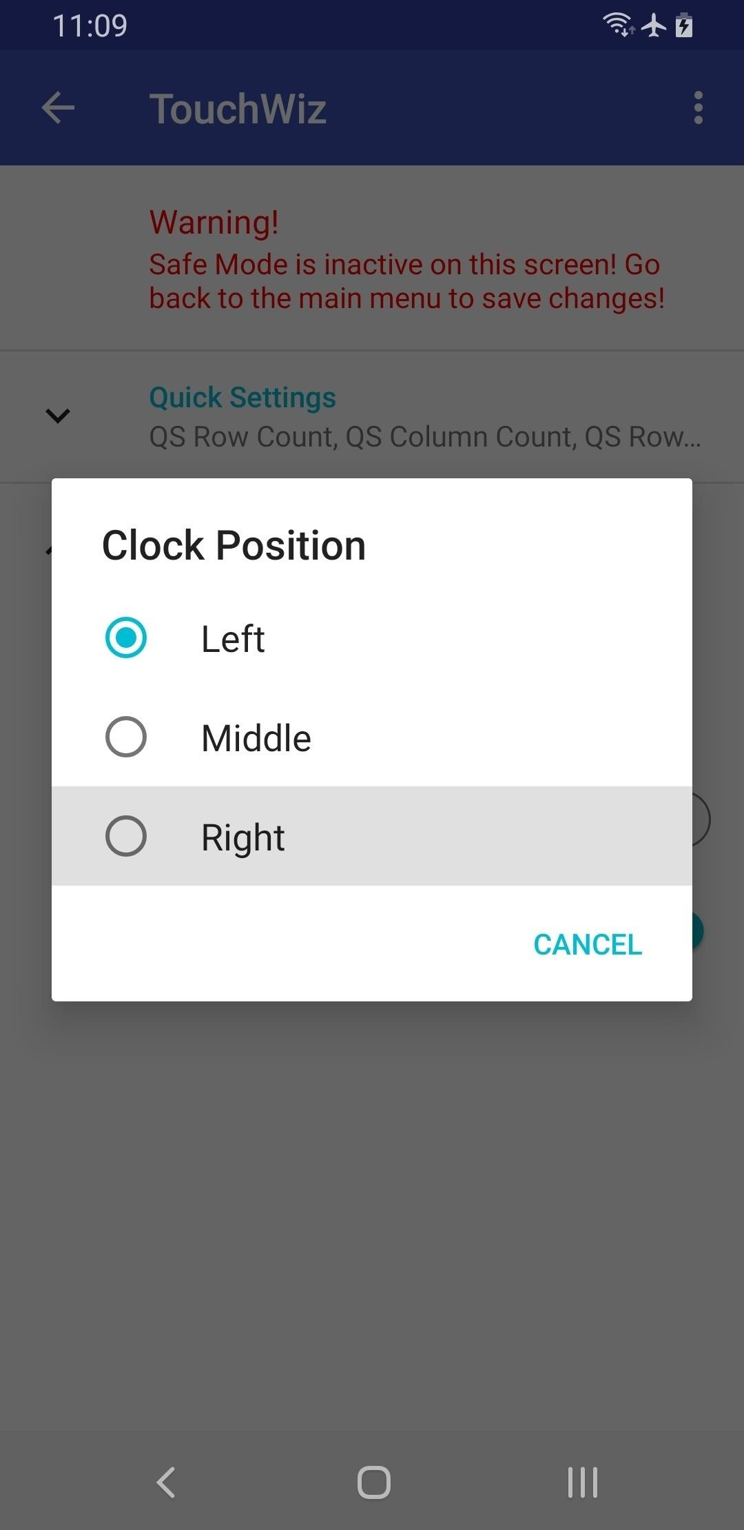 How to Move the Clock Back to the Right Side on Your Galaxy in Android Pie