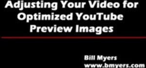 Get YouTube to use a thumbnail preview image you want