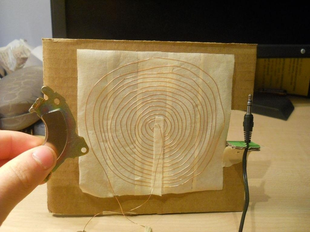How to Make a Working Speaker Using Only a Magnet, Wire, and Masking Tape