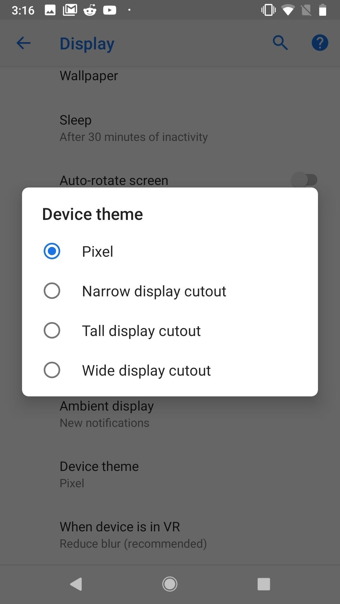 This Is How Android P Will Handle Notches