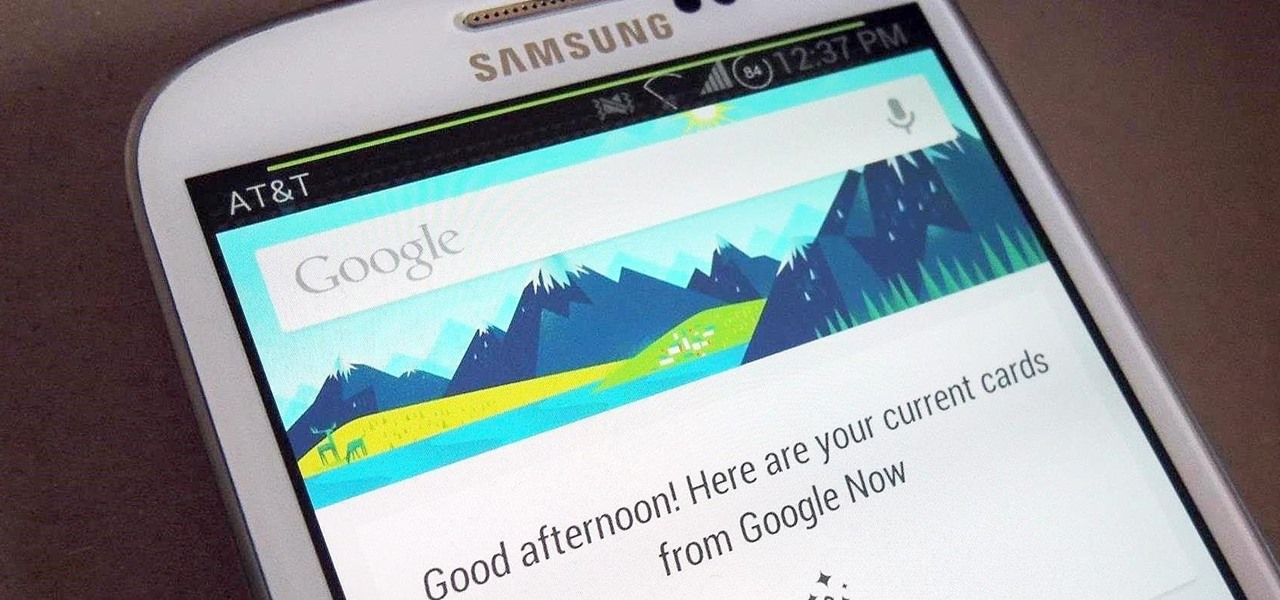 Get the New Google Now Launcher on Your Samsung Galaxy S3