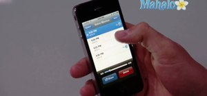 Record and share voice memos on an Apple iPhone 4