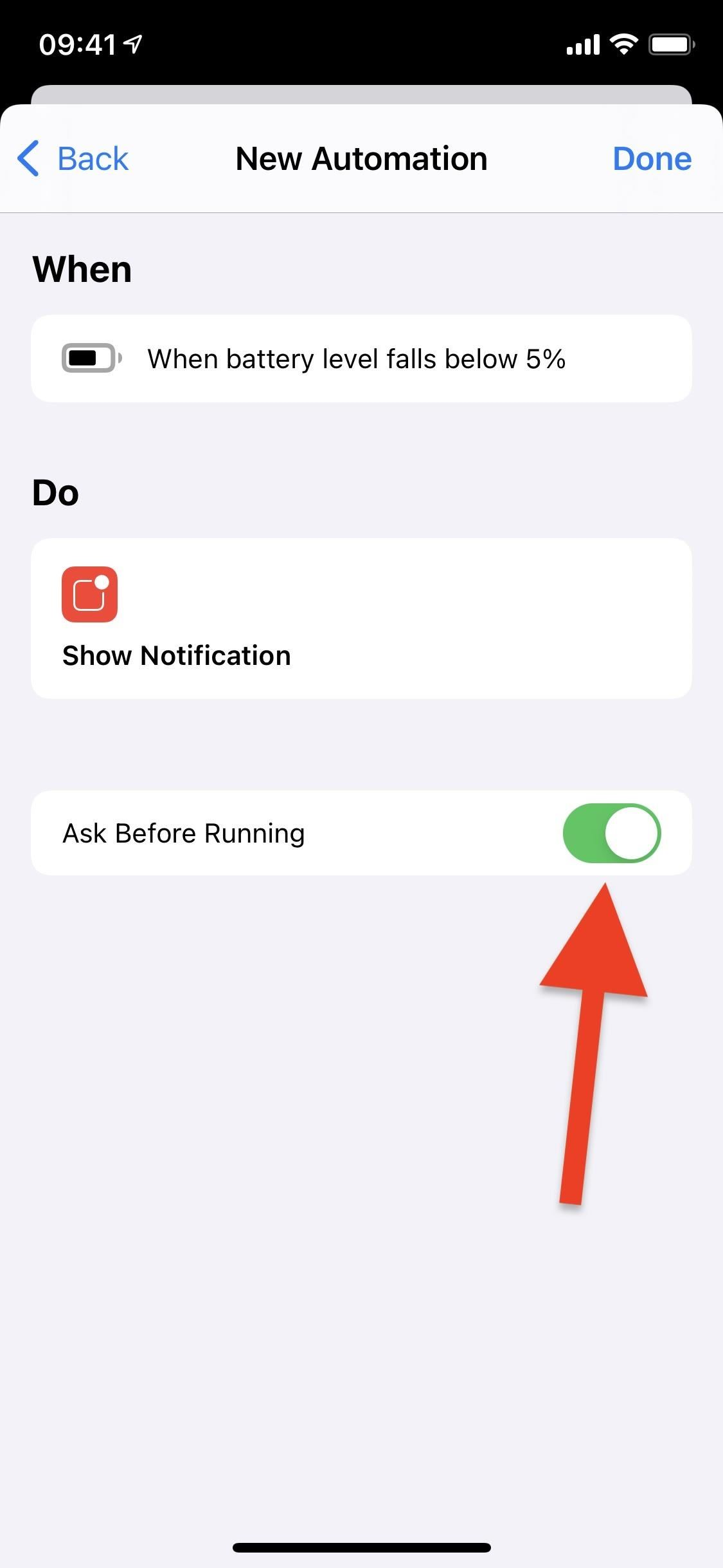 Make iOS Alert You When Your iPhone Only Has 5% Battery Life Remaining