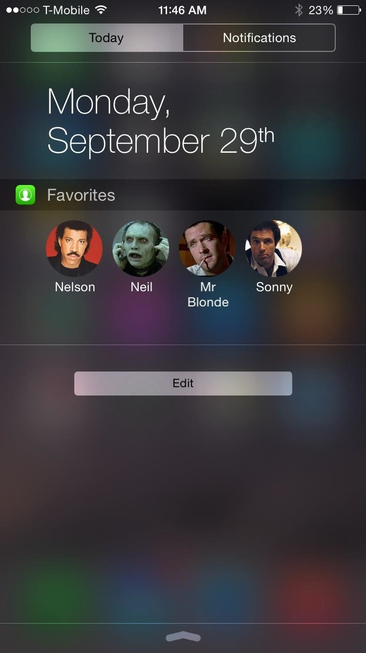 Add Speed-Dial to Your iPhone's Notification Center in iOS 8