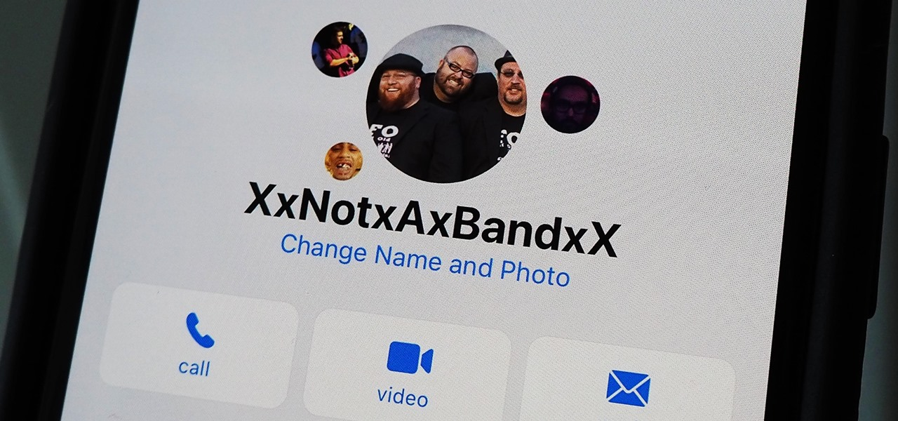 Set a Group Photo for Multi-Person Chats in iOS 14's Messages App