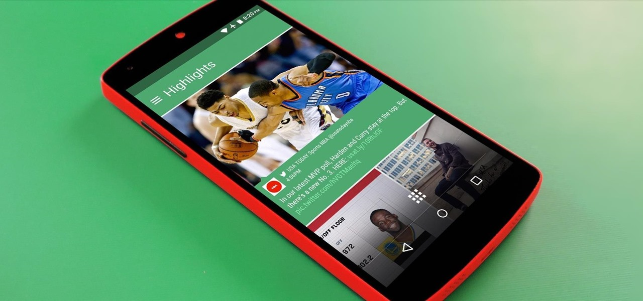 Install HTC's BlinkFeed Launcher on Any Android Device
