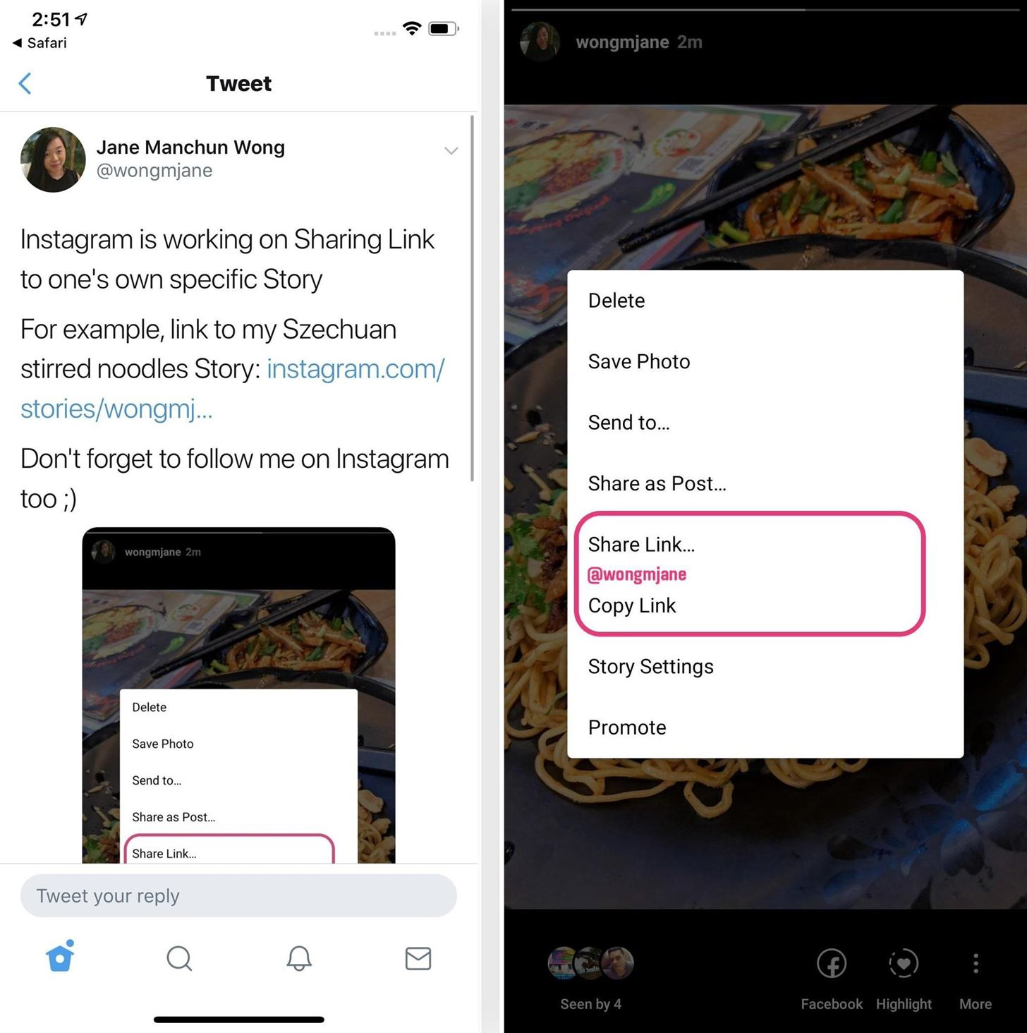 Coming Soon: Share a Link to Your Instagram Story on Other Platforms