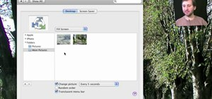 how to set a google background on mac