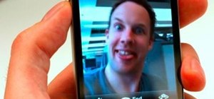Use FaceTime on your iPhone 4 to initiate a video chat