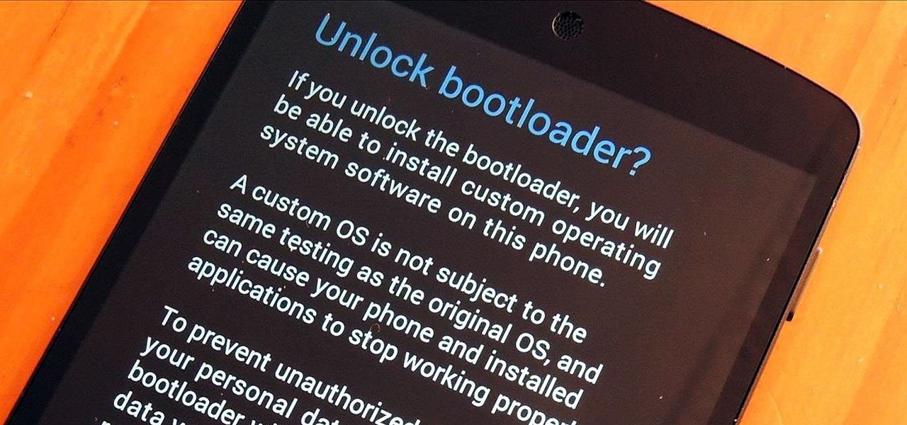 How to Unlock the Nexus 5 Bootloader & Start Modding Your Android