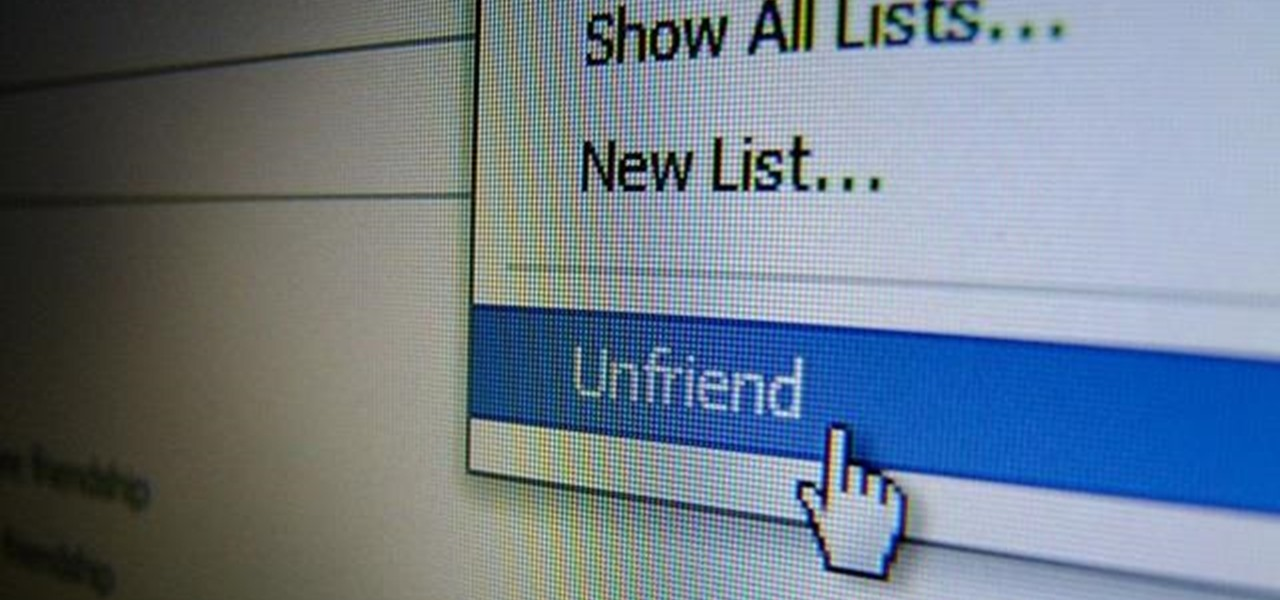 "Find Out When One of Your So-Called ""Friends"" Unfriends You on Facebook"