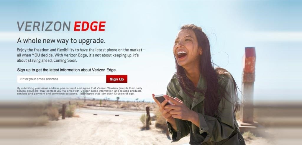 Sick of Your Phone? Upgrade in 30 Days with Verizon's Edge Plan...with Some Huge Catches