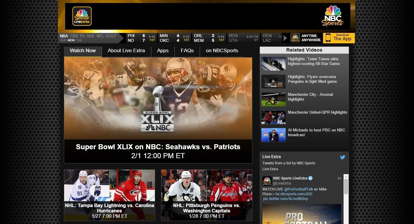 How to Watch the 2015 Super Bowl XLIX Live Stream Online from Anywhere