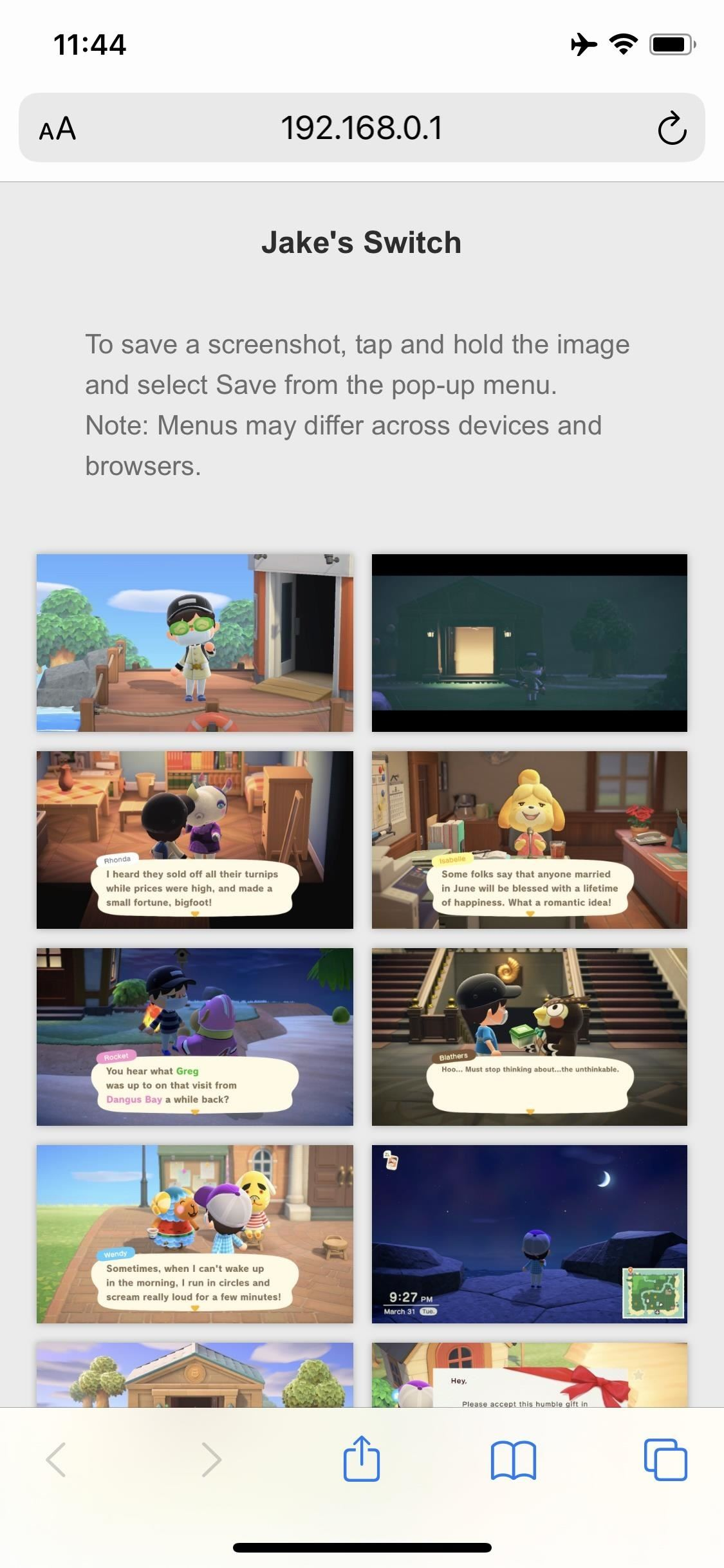 How to Get Your 'Animal Crossing - New Horizons' Photos on Your Phone