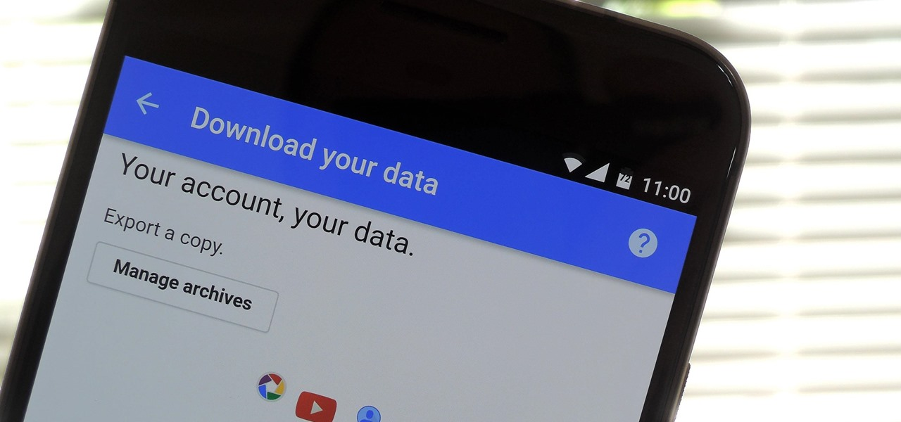 Download Backups of Emails, Photos, Videos & Other Account Data from Google