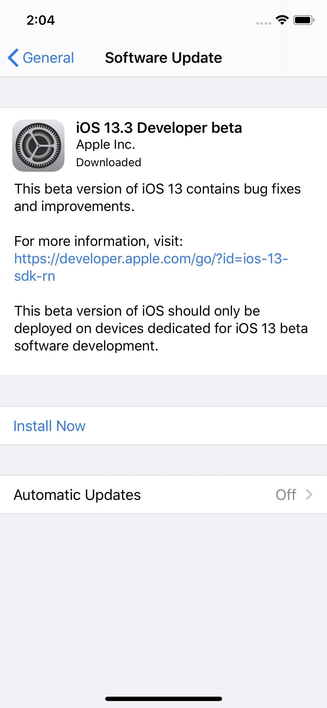 How to Download & Install iOS 13.3 Beta on Your iPhone Right Now