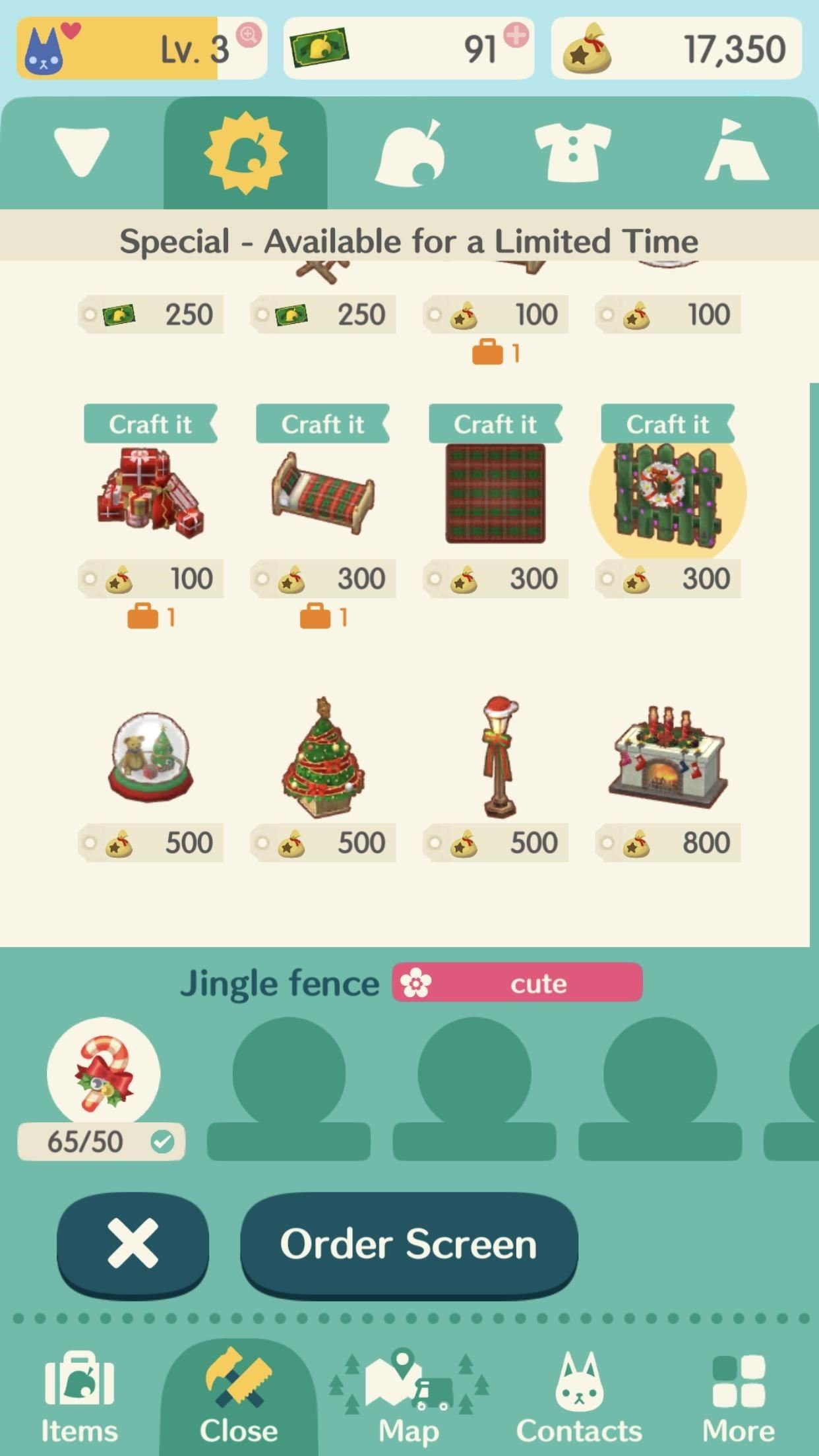 Pocket Camp 101: Grab Yourself a Full Santa Suit & Other Holiday Items in Animal Crossing