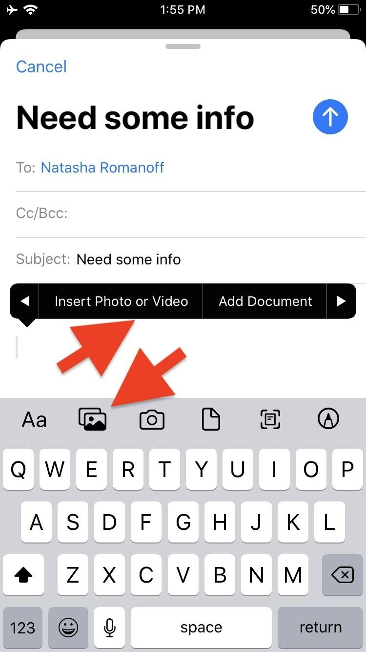 Using the new formatting and attachments toolbar in iOS 13 for rich text, document scanning, and more