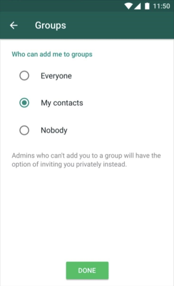 How to Stop Others from Adding You to WhatsApp Groups You Don't Want to Join