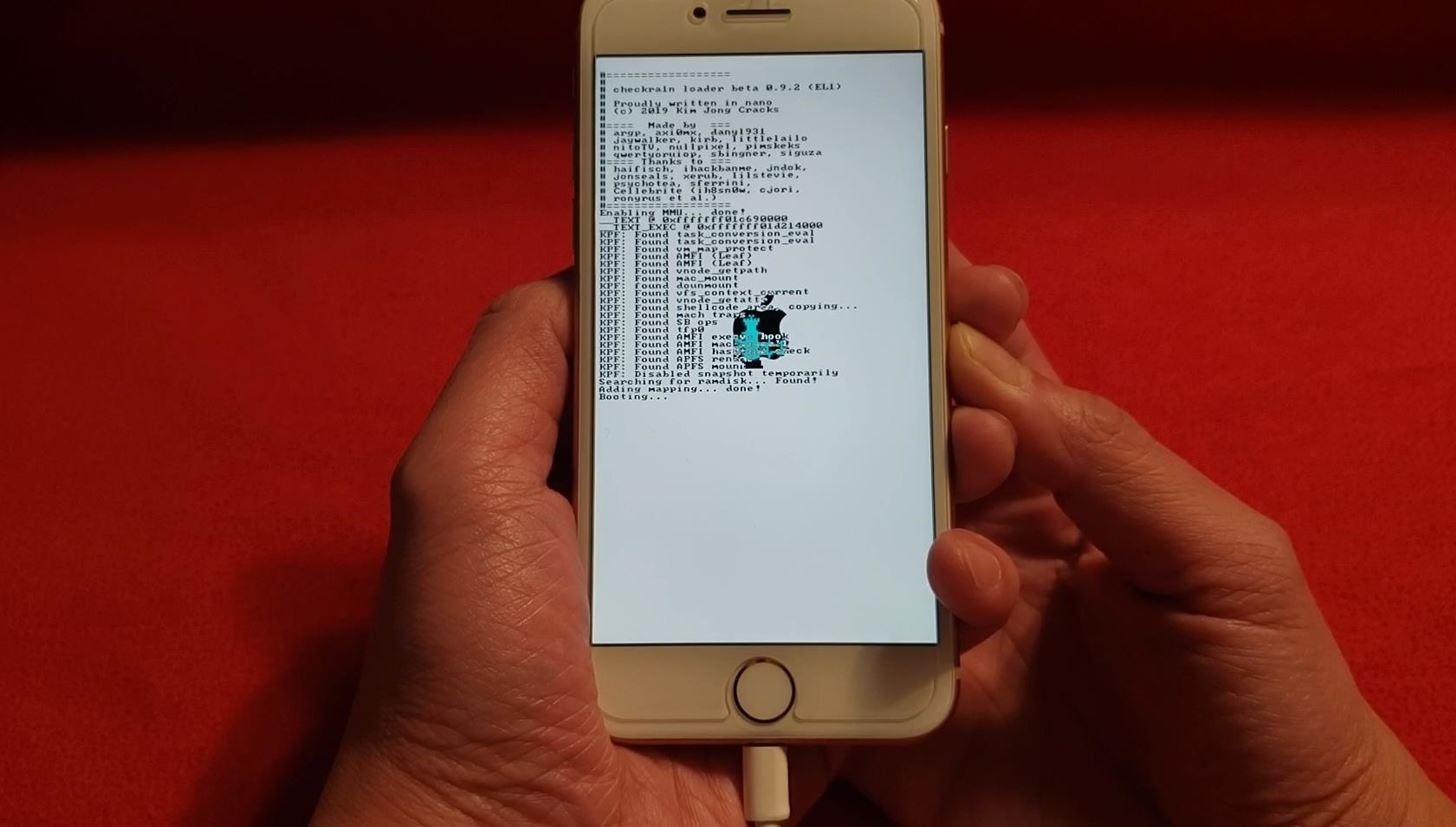 Re-enable Checkra1n jailbreak after rebooting the iPhone