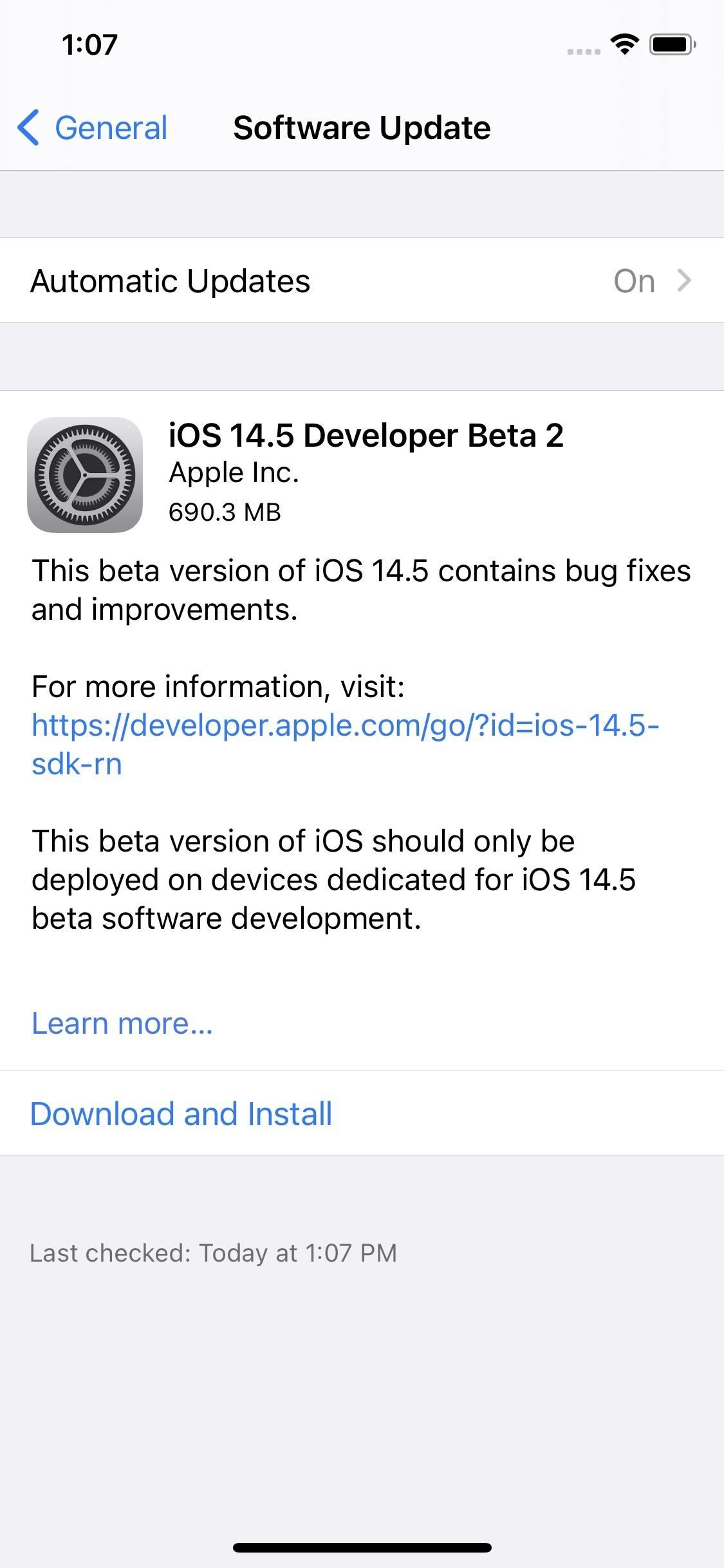 Apple releases iOS 14.5 Developer Beta 2 for iPhone, adds new microphone privacy feature for select iPads