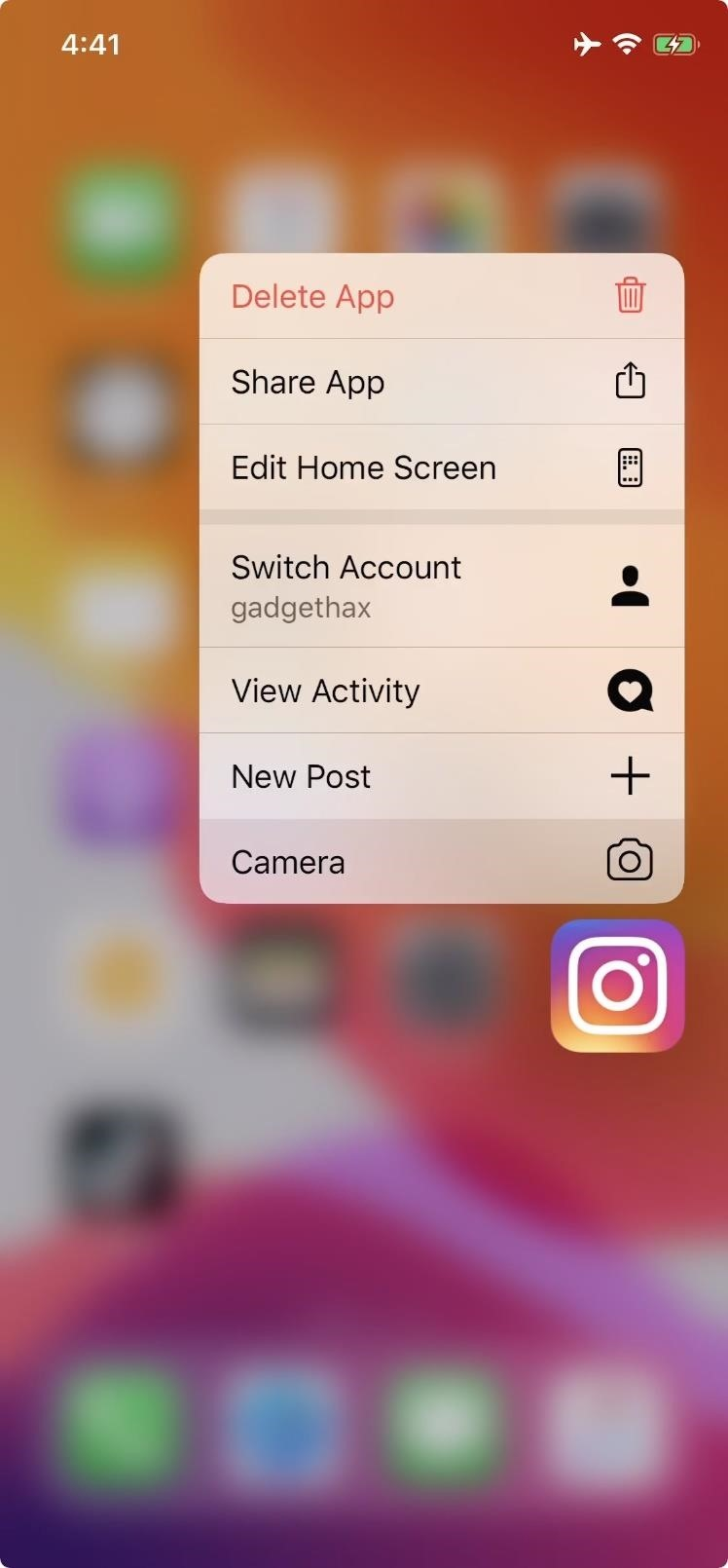 With this trick you can immediately record an Instagram story