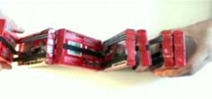 Make a Jacob's Ladder with cassette tapes