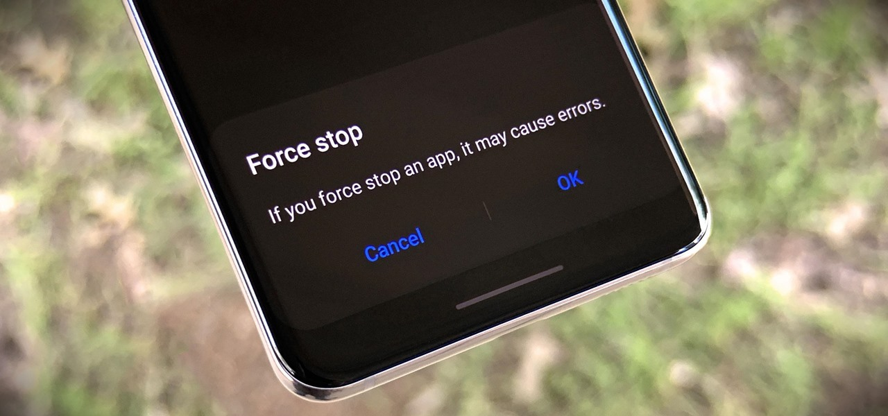 Force Stop Apps on Your Galaxy After the Android 10 Update