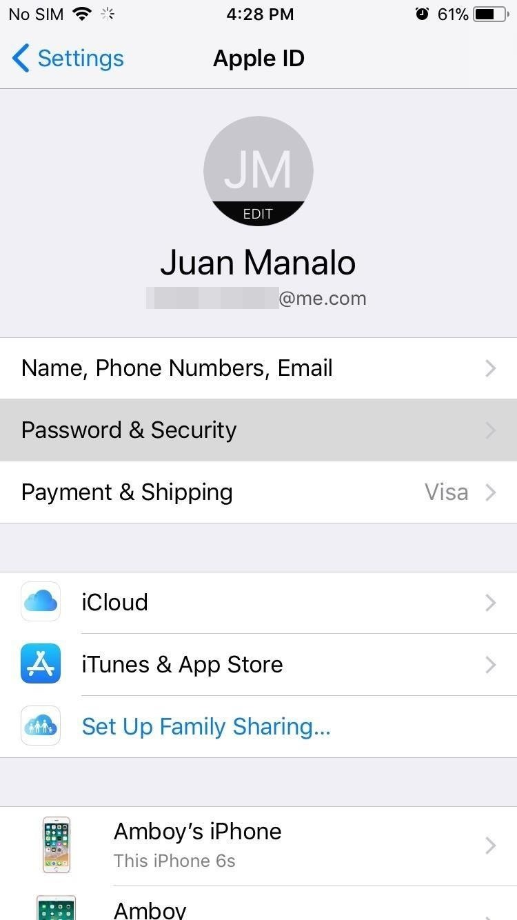How to Enable or Disable Two-Factor Authentication on Your iPhone