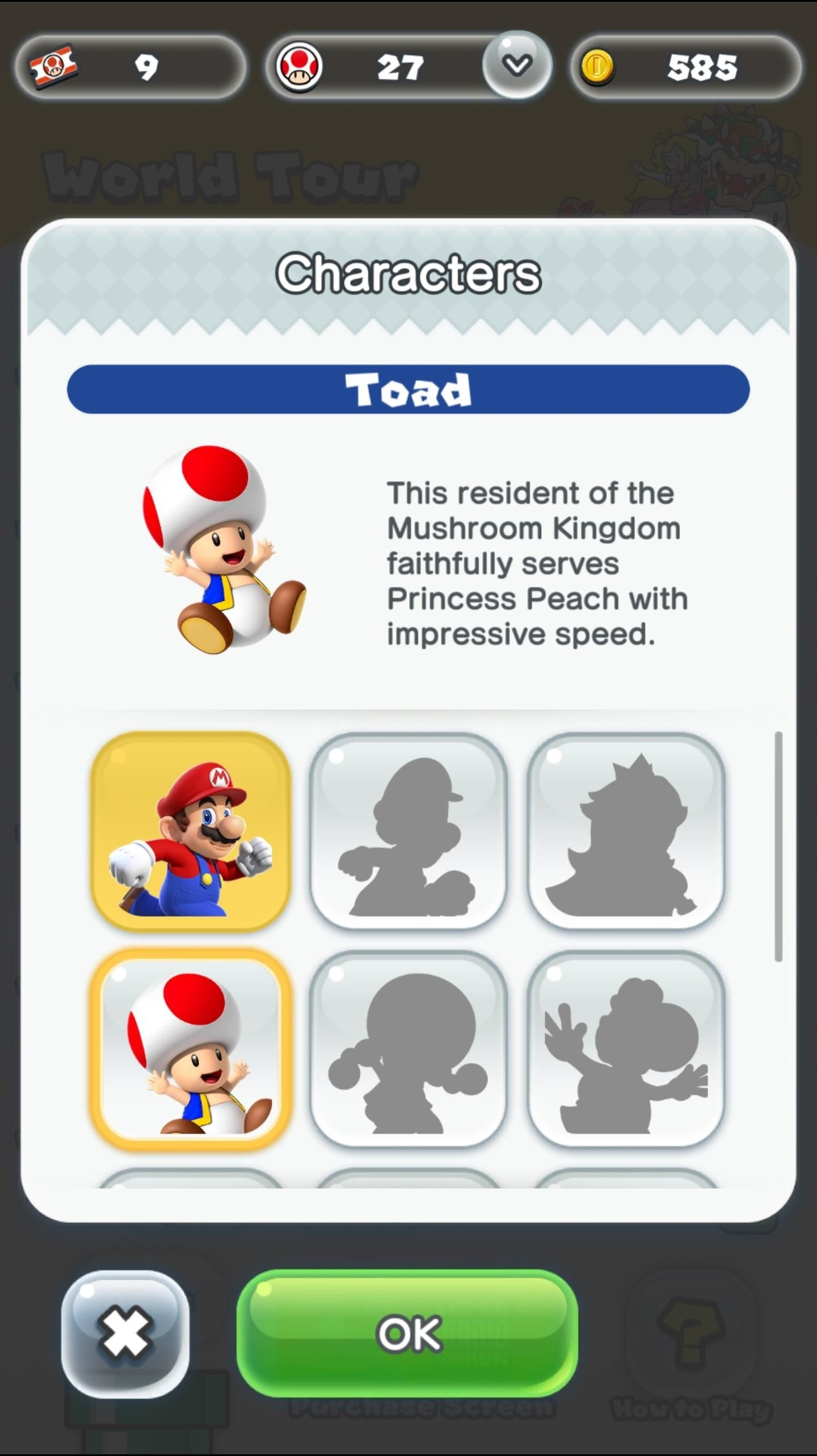 Super Mario Run 101: How to Unlock Toad