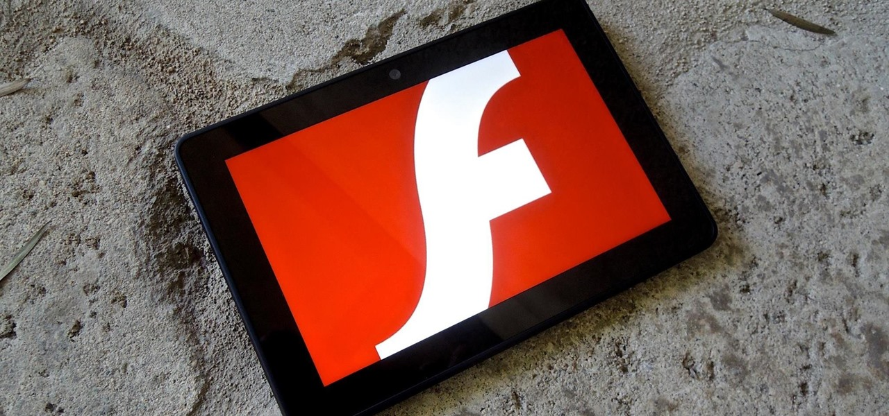 Install Flash on Any Kindle Fire